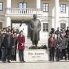 VIŠEGRAD: Srednjoškolci obilježili 44 godine od smrti Ive Andrića