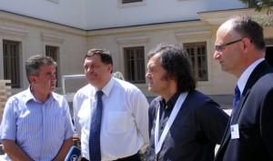Visegrad - Lakic, Dodik, Kusturica i Popovic